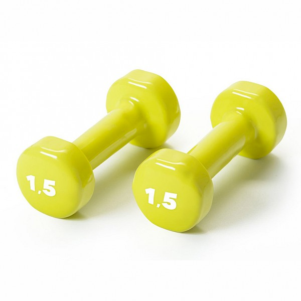 BASIC vinyl dumbbells